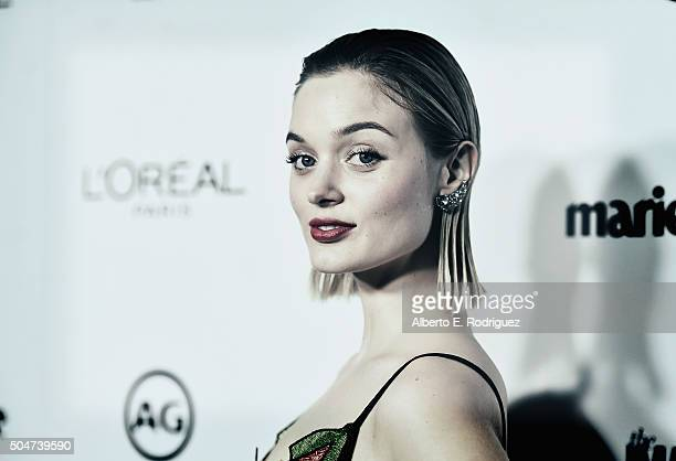 Actress Bella Heathcote attends the inaugural Image Maker Awards hosted by Marie Claire at Chateau Marmont on January 12 2016 in Los Angeles...