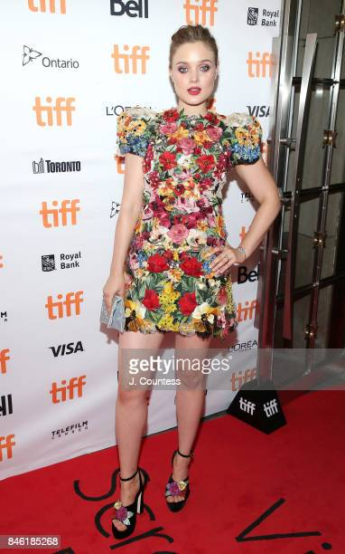 Actress Bella Heathcote attends the premiere of 'Professor Marston The Wonder Women' during the 2017 Toronto International Film Festival at Princess...