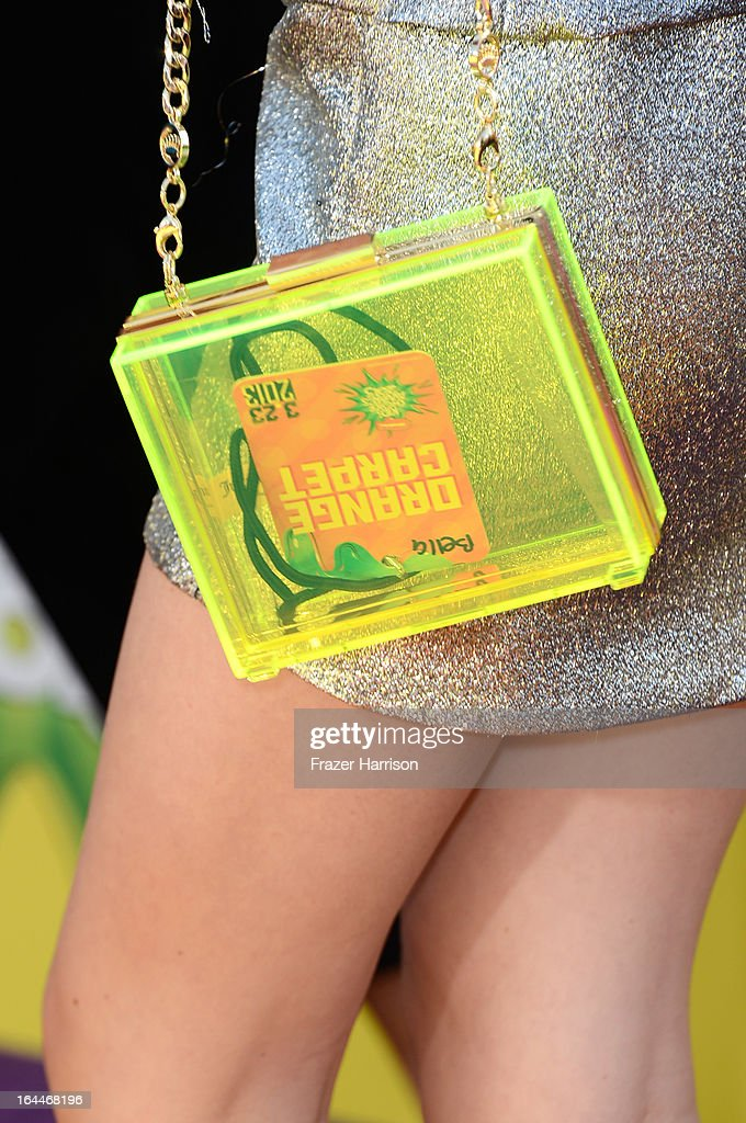 Actress Bella Thorne arrives at Nickelodeon's 26th Annual Kids' Choice Awards at USC Galen Center on March 23, 2013 in Los Angeles, California.