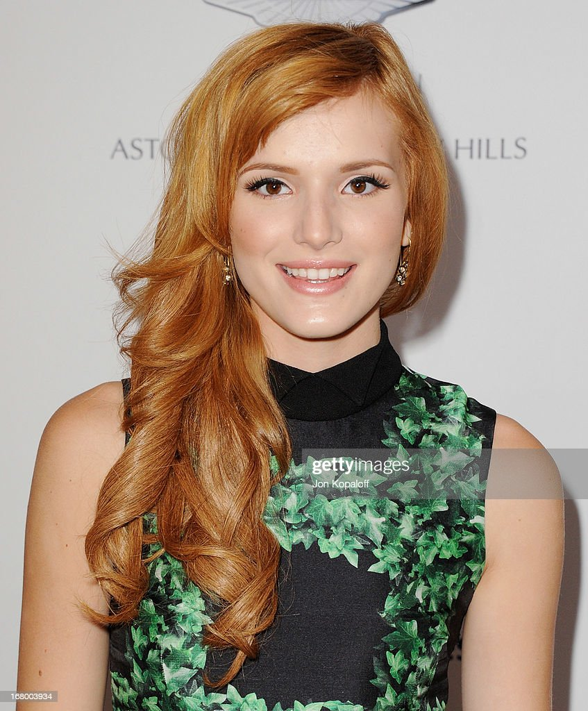 Actress Bella Thorne arrives at the 20th Annual Race To Erase MS 'Love To Erase MS' Gala at the Hyatt Regency Century Plaza on May 3, 2013 in Century City, California.