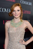 Actress Bella Thorne arrives at the 'Latinos In Hollywood' celebration with Latina Magazine at The London West Hollywood on October 4 2012 in West...
