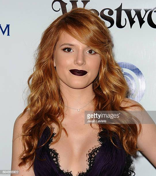 Actress Bella Thorne attends Art of Elysium's 9th annual Heaven Gala at 3LABS on January 9 2016 in Culver City California