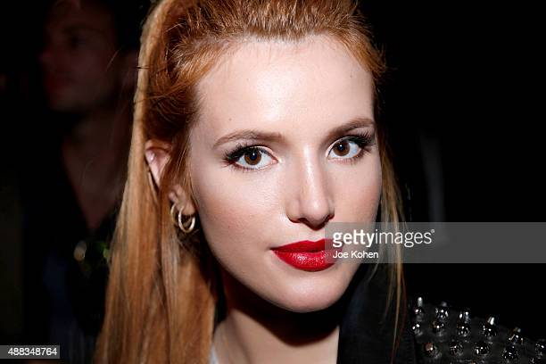 Actress Bella Thorne attends Diesel Black Gold Spring show during 2016 New York Fashion Week on September 15 2015 in New York City