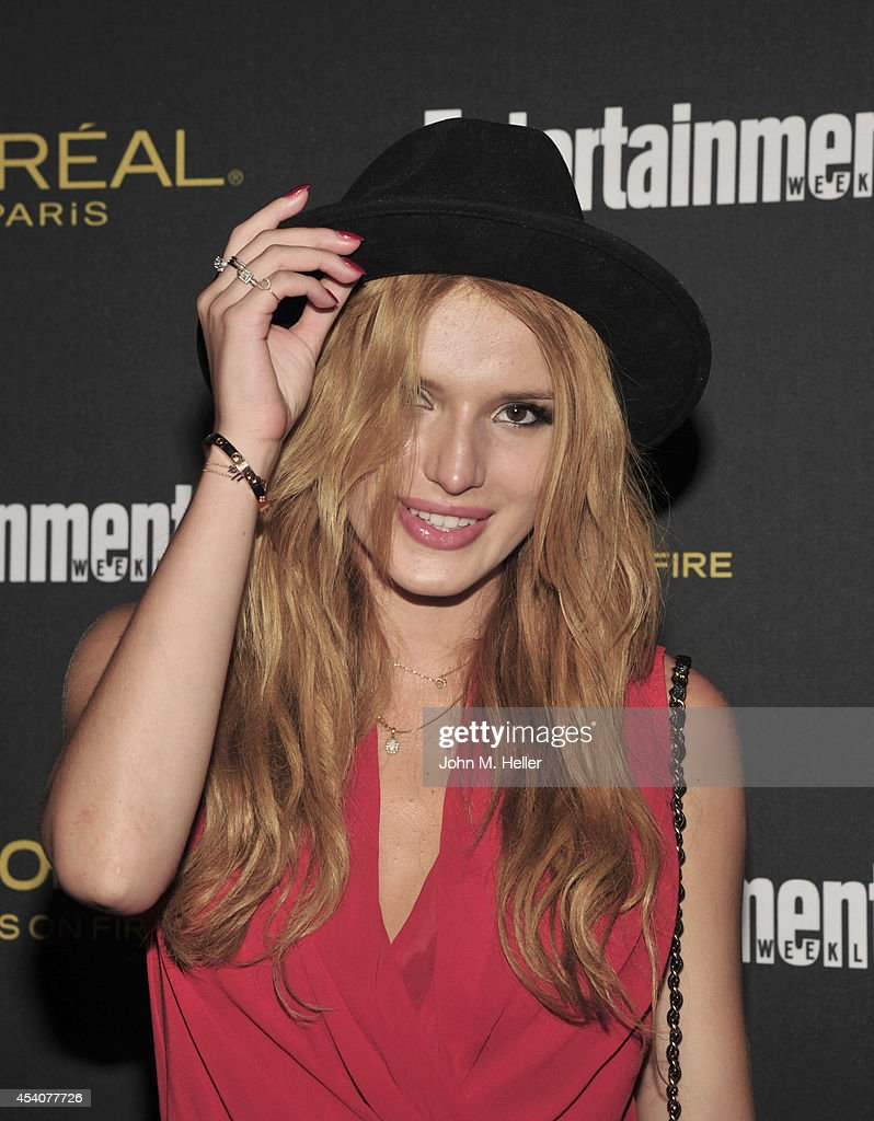 Actress Bella Thorne attends Entertainment Weekly's Pre-Emmy Party at Fig & Olive on Melrose Place on August 23, 2014 in West Hollywood, California.