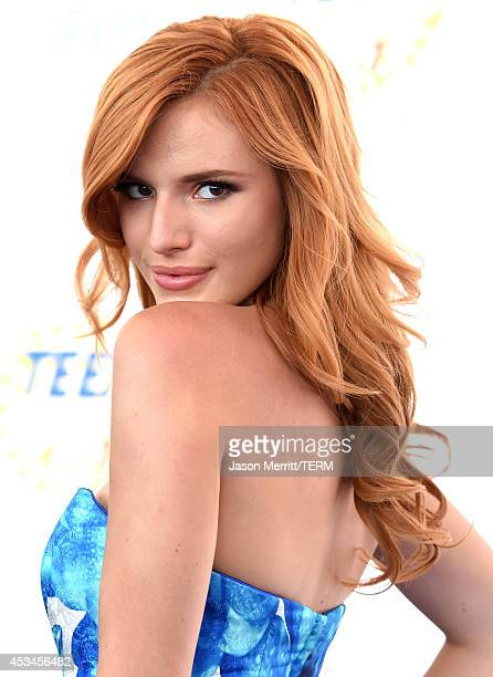 Actress Bella Thorne attends FOX's 2014 Teen Choice Awards at The Shrine Auditorium on August 10 2014 in Los Angeles California