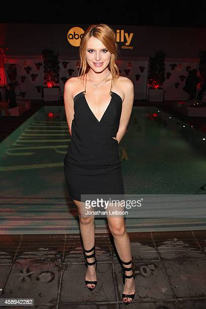 Actress Bella Thorne attends Latina Magazine's '30 Under 30' Party at Mondrian Los Angeles on November 13 2014 in West Hollywood California