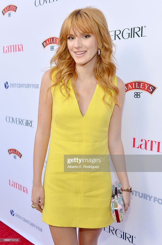 Actress Bella Thorne attends Latina Magazine's 'Hollywood Hot List' party at The Redbury Hotel on October 3, 2013 in Hollywood, California.