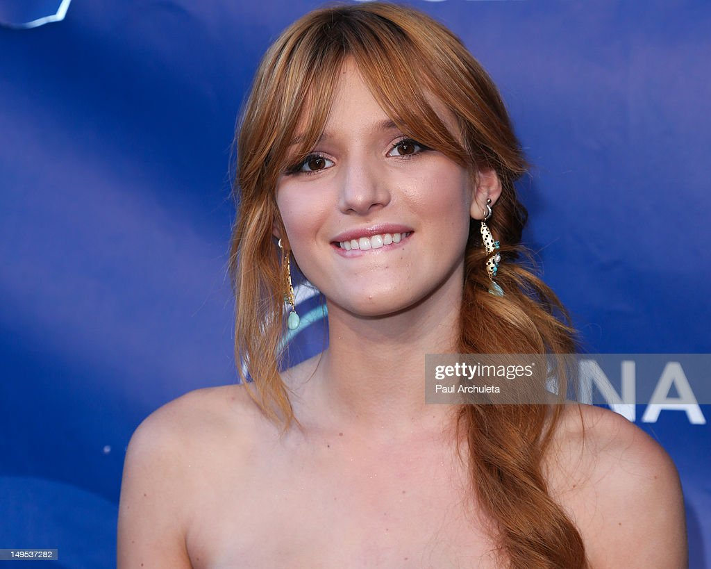 Actress <a gi-track='captionPersonalityLinkClicked' href=/galleries/search?phrase=Bella+Thorne&family=editorial&specificpeople=5083663 ng-click='$event.stopPropagation()'>Bella Thorne</a> attends the 2012 Oceana's SeaChange summer party on July 29, 2012 in Laguna Beach, California.