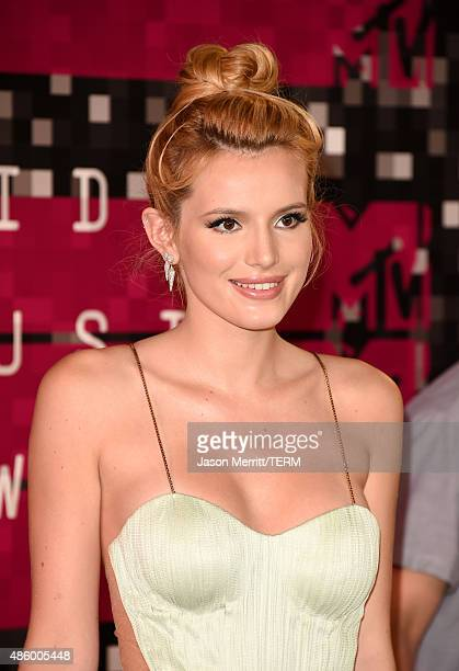 Actress Bella Thorne attends the 2015 MTV Video Music Awards at Microsoft Theater on August 30 2015 in Los Angeles California