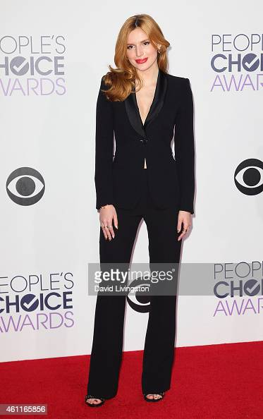 Actress Bella Thorne attends the 2015 People's Choice Awards at the Nokia Theatre LA Live on January 7 2015 in Los Angeles California