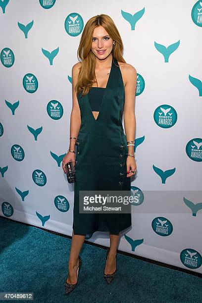 Actress Bella Thorne attends the 2015 Shorty Awards at TheTimesCenter on April 20 2015 in New York City