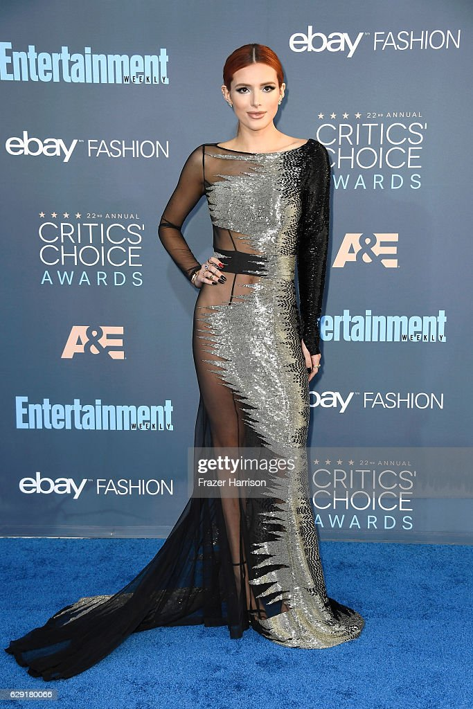 actress-bella-thorne-attends-the-22nd-annual-critics-choice-awards-at-picture-id629180066