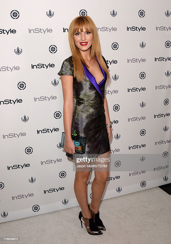 Actress Bella Thorne attends the InStyle Summer Soiree held Poolside at the Mondrian hotel on August 14, 2013 in West Hollywood, California.