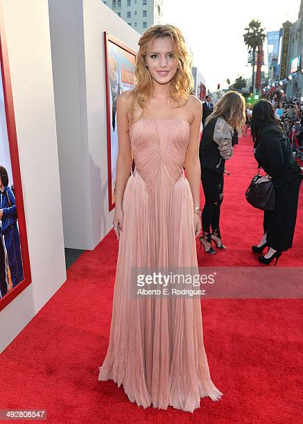 Actress Bella Thorne attends the Los Angeles premiere of 'Blended' at TCL Chinese Theatre on May 21 2014 in Hollywood California
