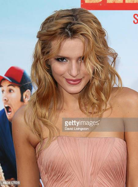 Actress Bella Thorne attends the Los Angeles premiere of 'Blended' at the TCL Chinese Theatre on May 21 2014 in Hollywood California