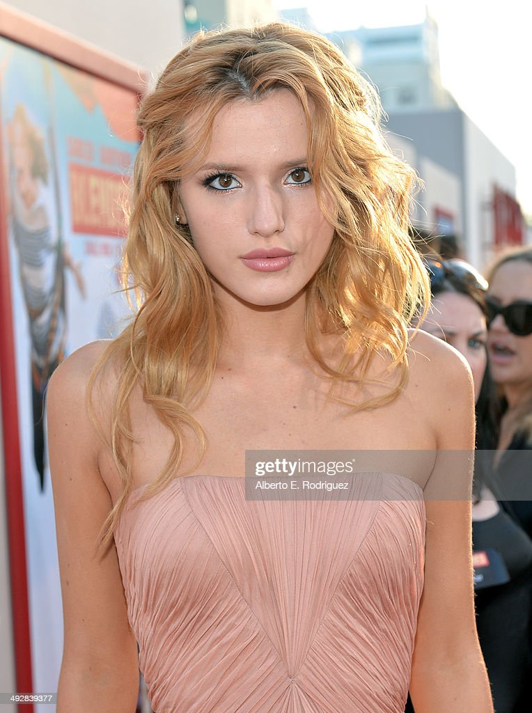 Actress Bella Thorne attends the Los Angeles premiere of 'Blended' at TCL Chinese Theatre on May 21, 2014 in Hollywood, California.