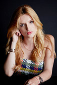 Actress Bella Thorne is photographed for The Wrap on August 11 2015 in Los Angeles California