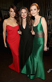 Actress Bellamy Young Actress Katie Lowes and Actress Darby Stanchfield attend the 45th NAACP Image Awards presented by TV One at Pasadena Civic...