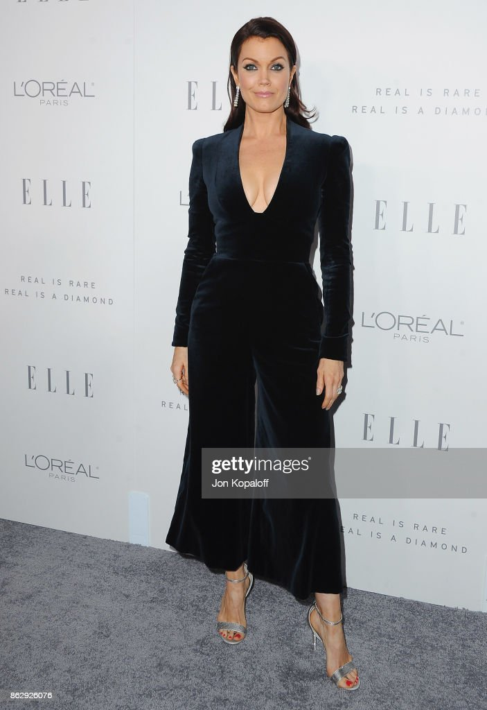 Actress Bellamy Young arrives at ELLE's 24th Annual Women in Hollywood Celebration at Four Seasons Hotel Los Angeles at Beverly Hills on October 16, 2017 in Los Angeles, California.