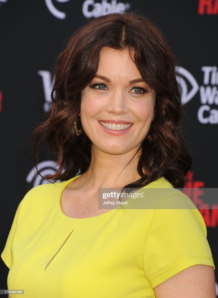 Actress Bellamy Young arrives at 'The Lone Ranger' World Premiere at Disney's California Adventure on June 22, 2013 in Anaheim, California.