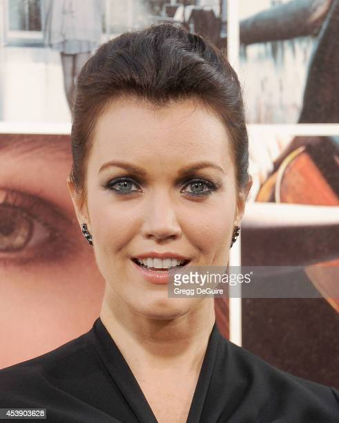 Actress Bellamy Young arrives at the Los Angeles premiere of 'If I Stay' at TCL Chinese Theatre on August 20 2014 in Hollywood California