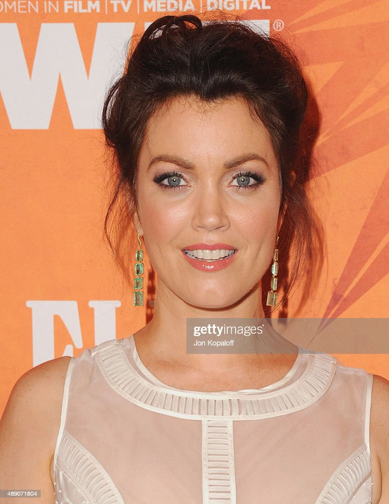 Actress Bellamy Young arrives at the Variety And Women In Film Annual Pre-Emmy Celebration at Gracias Madre on September 18, 2015 in West Hollywood, California.