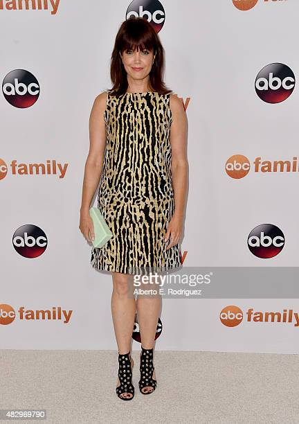 Actress Bellamy Young attends Disney ABC Television Group's 2015 TCA Summer Press Tour at the Beverly Hilton Hotel on August 4 2015 in Beverly Hills...