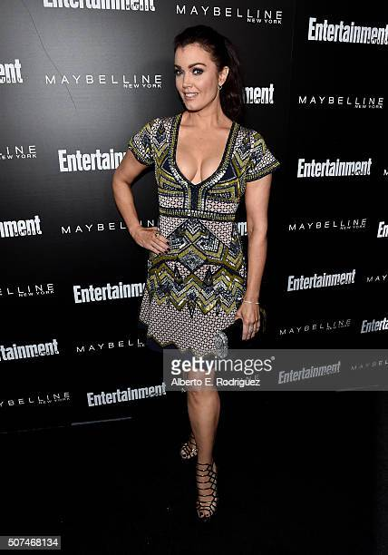 Actress Bellamy Young attends Entertainment Weekly Celebration Honoring The Screen Actors Guild Awards Nominees presented by Maybelline at Chateau...