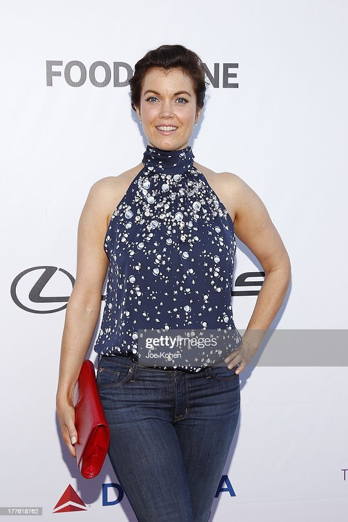 Actress Bellamy Young attends LEXUS Live On Grand At The 3rd Annual Los Angeles Food & Wine Festival on August 24, 2013 in Los Angeles, California.