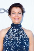 Actress Bellamy Young attends LEXUS Live On Grand at the 3rd Annual Los Angeles Food Wine Festival arrivals on August 24 2013 in Los Angeles...