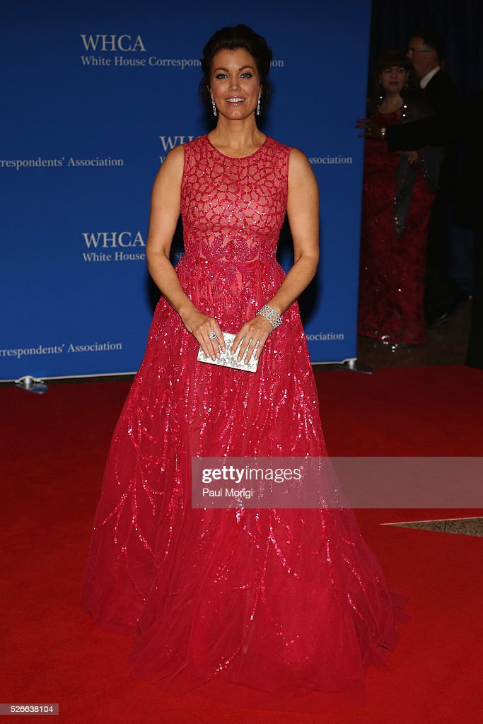Actress Bellamy Young attends the 102nd White House Correspondents' Association Dinner on April 30, 2016 in Washington, DC.