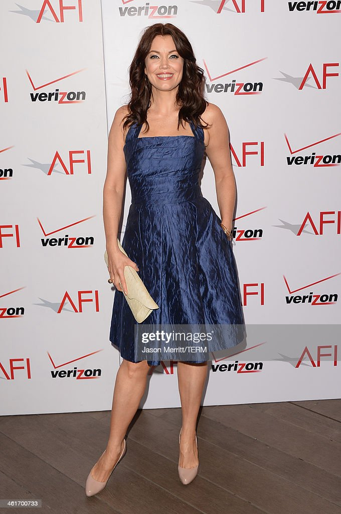 Actress <a gi-track='captionPersonalityLinkClicked' href=/galleries/search?phrase=Bellamy+Young&family=editorial&specificpeople=4135230 ng-click='$event.stopPropagation()'>Bellamy Young</a> attends the 14th annual AFI Awards Luncheon at the Four Seasons Hotel Beverly Hills on January 10, 2014 in Beverly Hills, California.