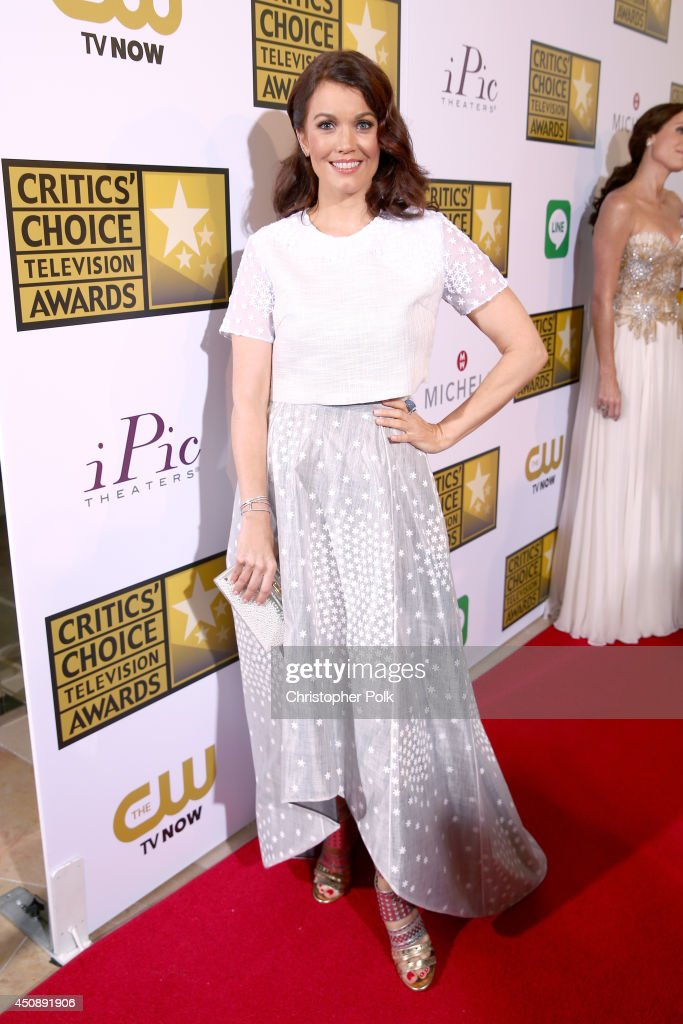 Actress <a gi-track='captionPersonalityLinkClicked' href=/galleries/search?phrase=Bellamy+Young&family=editorial&specificpeople=4135230 ng-click='$event.stopPropagation()'>Bellamy Young</a> attends the 4th Annual Critics' Choice Television Awards at The Beverly Hilton Hotel on June 19, 2014 in Beverly Hills, California.