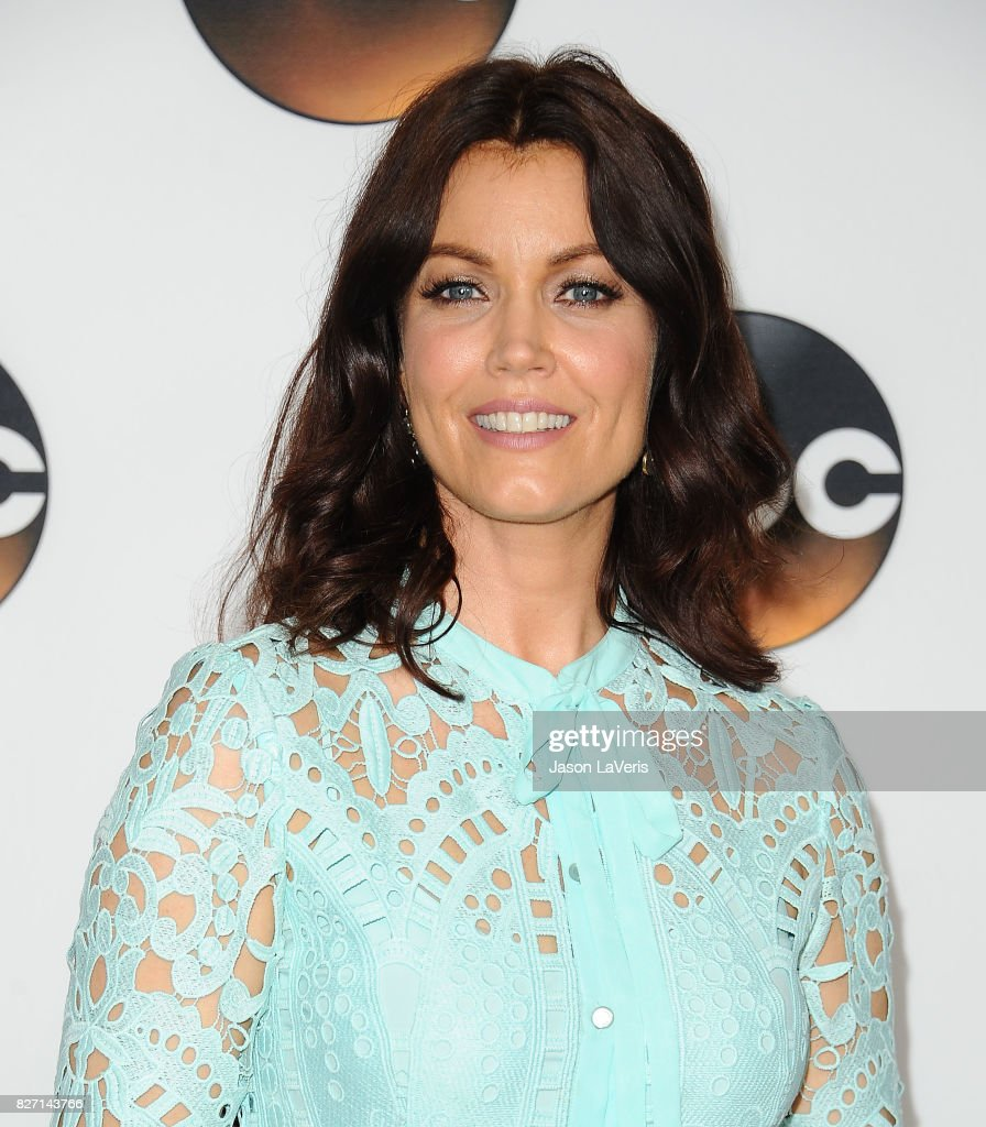 Actress Bellamy Young attends the Disney ABC Television Group TCA summer press tour at The Beverly Hilton Hotel on August 6, 2017 in Beverly Hills, California.