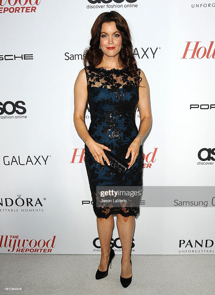 Actress <a gi-track='captionPersonalityLinkClicked' href=/galleries/search?phrase=Bellamy+Young&family=editorial&specificpeople=4135230 ng-click='$event.stopPropagation()'>Bellamy Young</a> attends the Hollywood Reporter's celebration of the Emmys at Soho House on September 19, 2013 in West Hollywood, California.