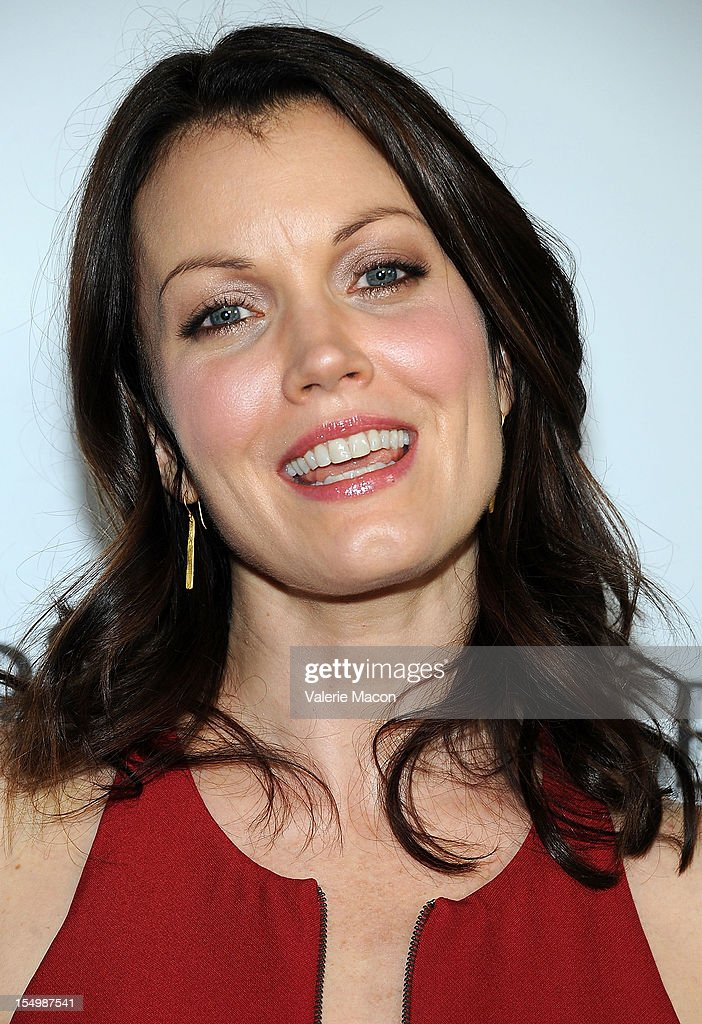 Actress Bellamy Young attends The Premiere Of RADiUS-TWC's 'The Details' at ArcLight Cinemas on October 29, 2012 in Hollywood, California.