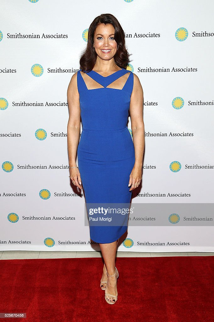 Actress Bellamy Young attends the Smithsonian Associates's 'Scandal-ous!' discussion with the cast and executive producers of ABC's 'Scandal' at the University of District of Columbia Theater of the Arts on April 28, 2016 in Washington, DC.