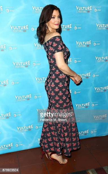 Actress Bellamy Young attends the Vulture Festival Los Angeles at the Hollywood Roosevelt Hotel on November 18 2017 in Hollywood California