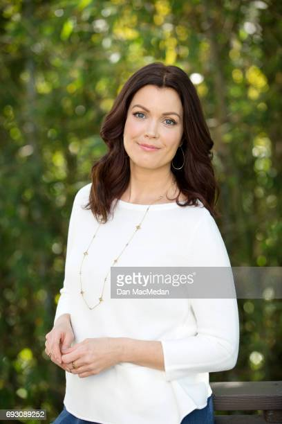 Actress Bellamy Young is photographed for USA Today's Pet Guide on March 13 2017 at home in Los Angeles California
