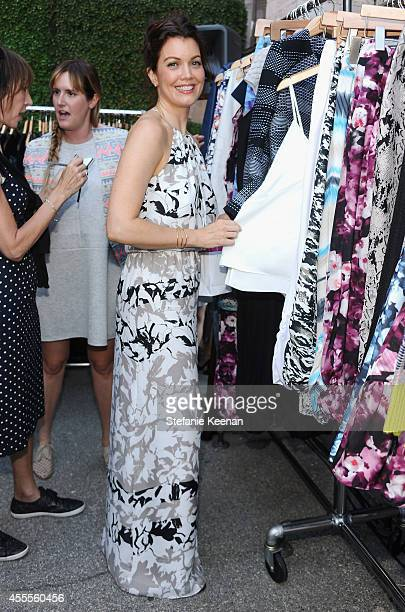 Actress Bellamy Young shopping Parker clothing attends The Launch of Parker on Spring at The A List on September 16 2014 in Beverly Hills California
