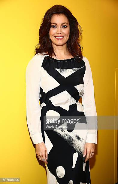 Actress Bellamy Young Visits 'Fox Friends' at FOX Studios on May 3 2016 in New York City