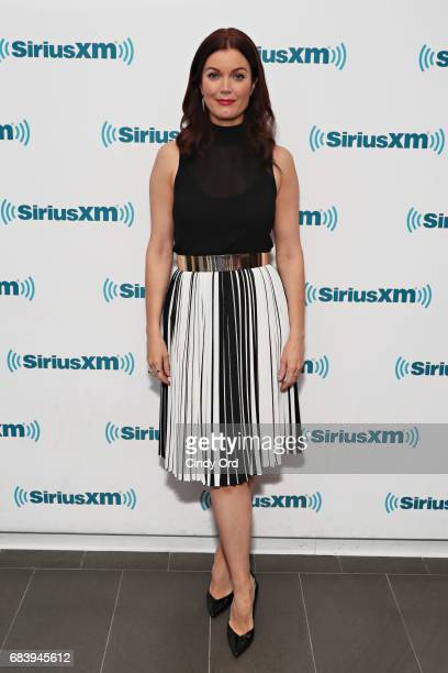 Actress Bellamy Young visits the SiriusXM Studios on May 16 2017 in New York City