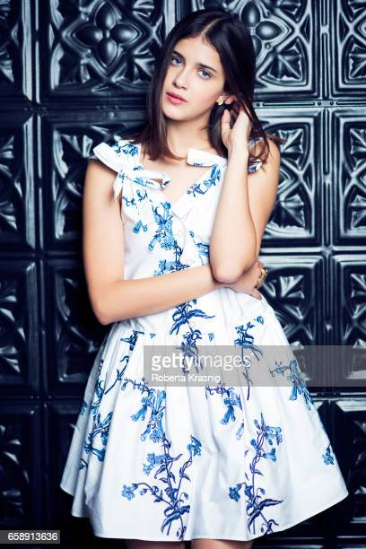 Actress Benedetta Porcaroli is photographed for Self Assignment on October 18 2016 in Milan Italy