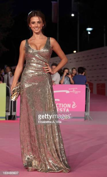 Actress Benedetta Valanzano attends the 2012 RomaFictionFest Closing Cerimony at Auditorium Parco della Musica on October 5 2012 in Rome Italy