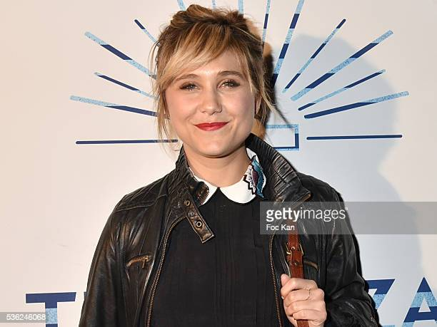 Actress Berangere Krief attends 'Ma Terrazza' Opening Party at Bus Palladium on May 31 2016 in Paris France