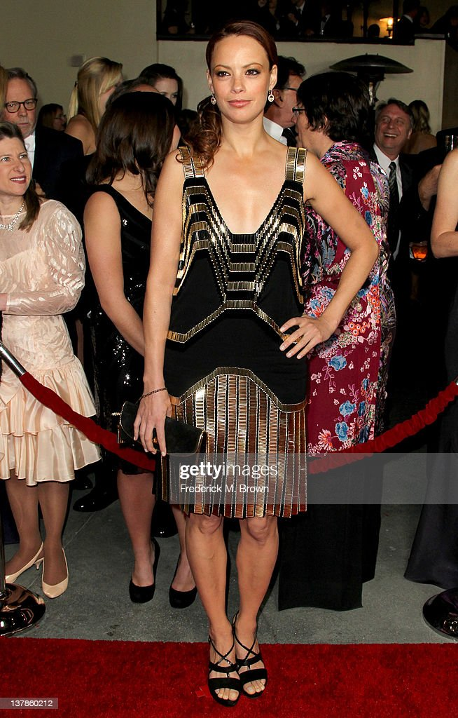 Actress Berenice Bejo arrives at the 64th Annual Directors Guild Of America Awards held at the Grand Ballroom at Hollywood & Highland on January 28, 2012 in Hollywood, California.