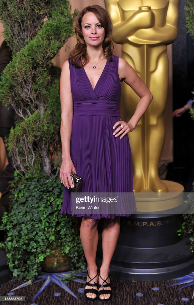 Actress Berenice Bejo arrives at the 84th Academy Awards Nominations Luncheon at The Beverly Hilton hotel on February 6 2012 in Beverly Hills...
