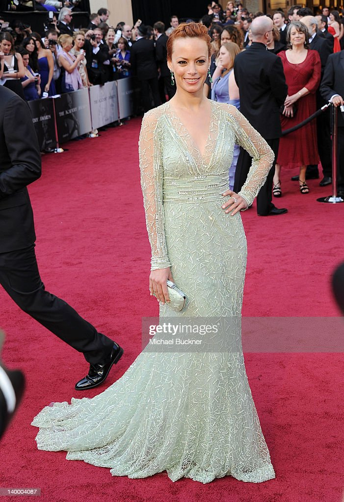 Actress Berenice Bejo arrives at the 84th Annual Academy Awards held at the Hollywood & Highland Center on February 26, 2012 in Hollywood, California.