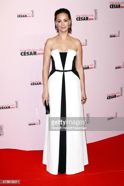 Actress Berenice Bejo arrives for the 39th Cesar Film Awards 2014 at Theatre du Chatelet on February 28 2014 in Paris France