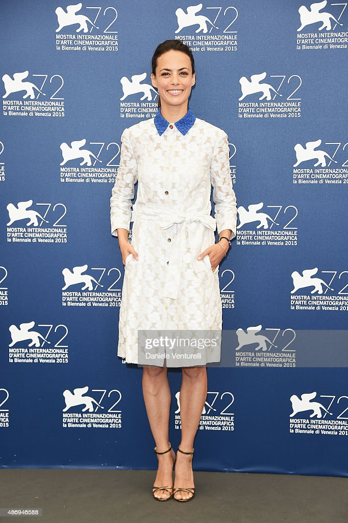 Actress Berenice Bejo attends a photocall for 'The Childhood Of A Leader' during the 72nd Venice Film Festival at Palazzo del Casino on September 5, 2015 in Venice, Italy.